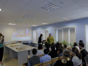 Представление гостя А.В. Колоколова