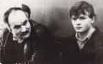 В.Т. Перчик со своим воспитанником В. Швая. [1980-е]. Ф.90.Оп.1.Д.13