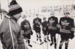 Бетин А.М., тренер юношеской хоккейной команды СК «Россия». Краснокамск. 1989. Ф.140.Оп.1.Д.1037.Л.1