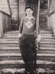 Валерий Гвоздев, один из сильнейших лыжников и легкоатлетов поселка Краснокамск. 1937. Ф.140.Оп.1.Д.48
