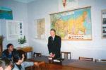 В.И. Докукин выступает на открытии музея истории политических репрессий. Краснокамск. 2000. Ф.140.Оп.2.Д.210.Л.1
