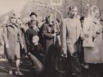Первомайская демонстрация. Колонна работников бумажной фабрики Гознак. 1977. Ф.140.Оп.1.Д.517