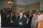 И.И. Морозов, заслуженный работник культуры РСФСР, основатель картинной галереи. 1998. Ф.140.Оп.2.Д.180