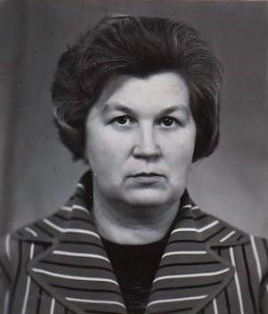 Крылова Л.Д.Портрет. 1979