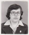 Фещенко Бронислава Иосифовна, председатель городского народного суда. 1980. Ф.140.Оп.1.Д.1900