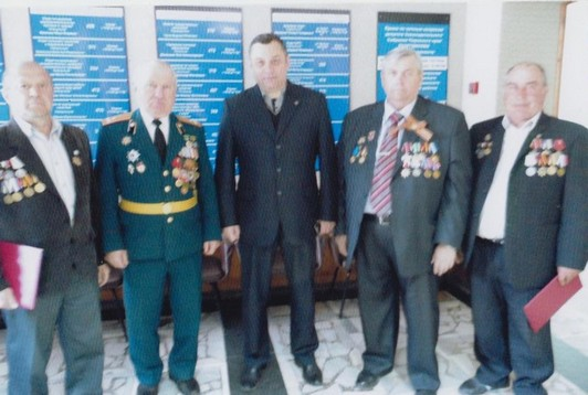Памятные мероприятия 26.04.2016 г. Фото из личного архива Болдырева А. Г.