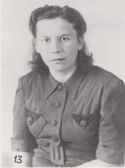 Медсестра Сырвачева А.П., 1941 г.  Ф.140.Оп.1.Д.11