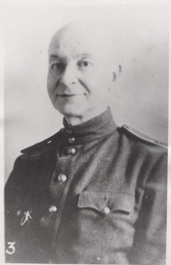 Начальник эвакогоспиталя Гурвич Г.Н. 1941 г. .Оп.1.Д.2.