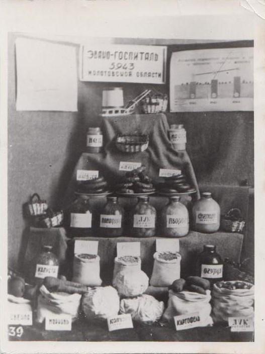 Подсобное хозяйство эвакогоспиталя, фото 1941 г.  Ф.140.Оп.1.Д.34.Л.1