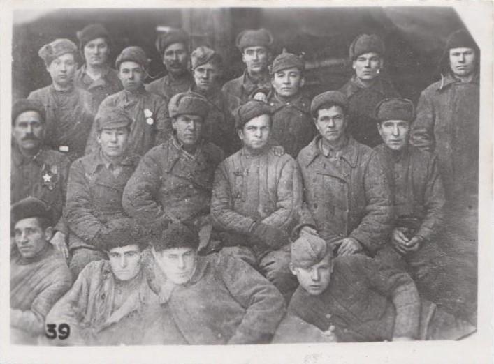 Подсобное хозяйство эвакогоспиталя, фото 1941 г. Ф.140.Оп.1.Д.34.Л.3