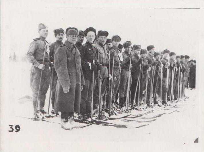 выздоравливающие раненые в лыжном походе Ф.140.Оп.1.Д.35