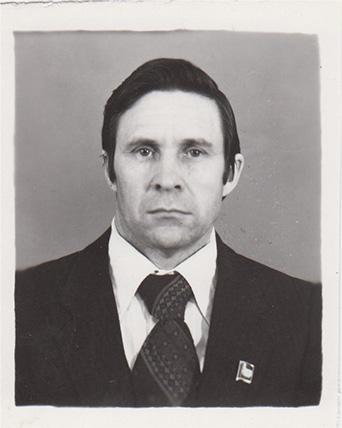 Матасов Иван Степанович, заместитель председателя Краснокамского горисполкома [1980-е] 140.Оп.1.Д.1833.Л.2